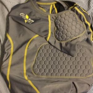 Riddell Power Padded Compression Shirt YL